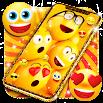 Funny smiley face emoji live wallpaper 14.2