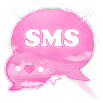 Pink Clouds Theme GO SMS Pro 2.5