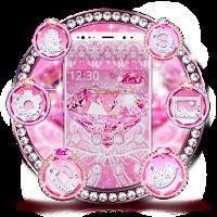 Pink shiny diamond theme 1.1.2