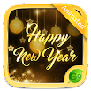 Happy New Year 2018 GO Keyboard Animated Theme 4.5