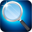 magnifying glass with light 16.0