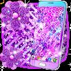 Purple glitter live wallpaper 16.0