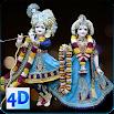 4D Radha Krishna Murti Darshan Live Wallpaper 9.0