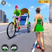 Bicycle Tuk Tuk Auto Rickshaw : New Driving Games 5.0 and up