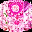 Pink rose silk live wallpaper 16.0