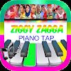 ZIGGY ZAGGA , NEW GEN HALILINTAR Piano Tiles 1.0