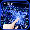 Blue Lightning Keyboard Theme 3.0