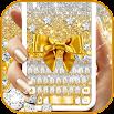 Golden Bow Keyboard Theme 3.0