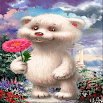 Cute Bear Baby LWP 3