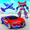 US Police Robot Car Transporter Police Plane Game 5.0 and up