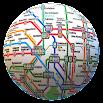 Public transport maps offline. 200+ cities 1.7.5
