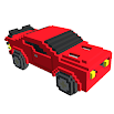 Cars 3D Color by Number - Voxel, Puzzle Coloring 3.4