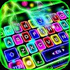 Thunder Neon Lights Keyboard Theme 1.0
