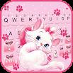 Girlish Kitty Wallpapers Keyboard Background 3.2.B