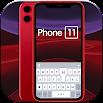 Red Phone 11 Keyboard Theme 1.0