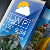 Weather Live Wallpaper. Current forecast on screen 1.5.8