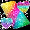 Multi color glitter live wallpaper 18.6