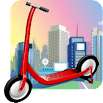 Scooter Racing® Roller Skate Game 4.8