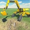 Futuristic Excavator Construction Simulator Games 1.8