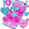 2021 Glitter hearts live wallpaper 18.6