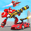 Flying Robot Car Transform Robot Hero Robot Games 5.0 and up