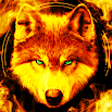 Fire Wallpaper and Keyboard - Lone Wolf 4.22